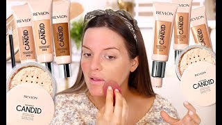TESTING THE NEW REVLON CANDID LINE.. HIT OR MISS? | Casey Holmes