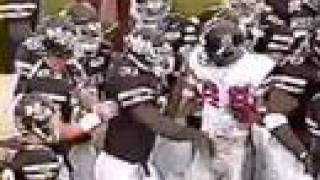 Fight between Ole Miss and Mississippi State
