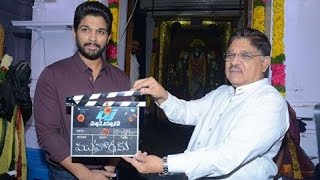 Allu Arjun New Movie DJ Opening