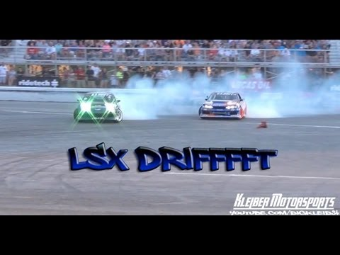 All LSX Drifting @ Holley LS Fest
