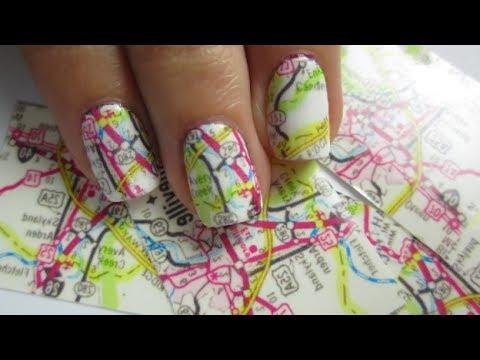 Map Nail Art?!