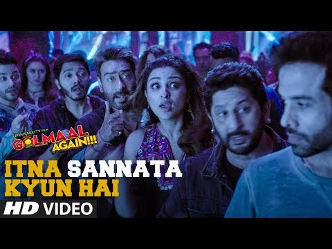 Itna Sannata Kyun Hai Video Song | Golmaal Again