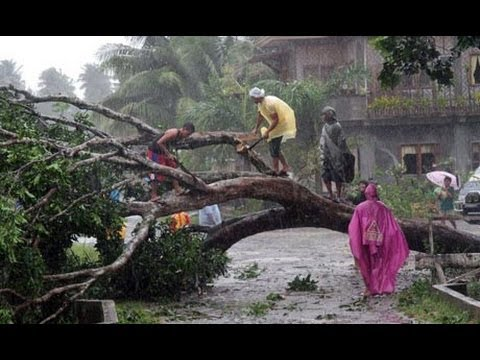 Typhoon Yolanda - Cebu City, Lahug 8th Nov 2013
