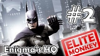 Batman: Arkham Origins Walkthrough Part 2 Enigma's HQ