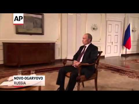 AP Interview  Putin warns West on Syria action