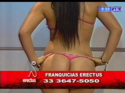 Brasil Girl Showing Thong Butt in Slingshot Bikini