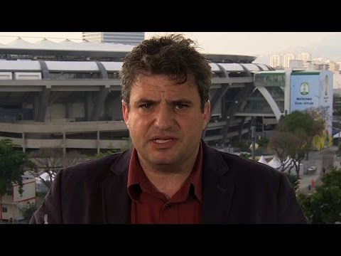 Dave Zirin on the World Cup You Won't See on TV: Protests, Tear Gas, Displaced Favela Residents