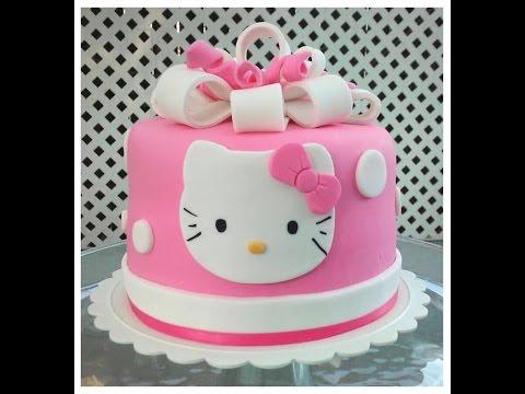 Birthday cake : HELLO KITTY slideshow
