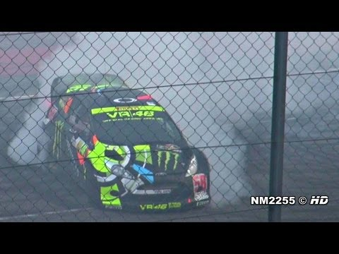 Valentino Rossi BURNOUT with his Ford Fiesta WRC - 2011 Monza Rally Show