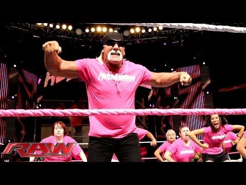Hulk Hogan discusses WWE's important partnership with Susan G. Komen: Raw, Oct. 27, 2014
