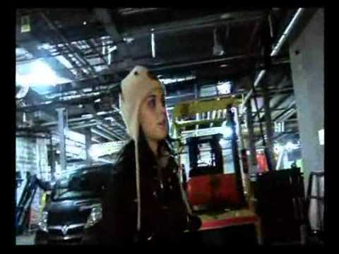 Katy Perry - Behind The Scenes at the 2008 MTV EMA (Part 1)