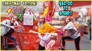 $30 TARGET HAUL CHALLENGE! SURPRISE CHRISTMAS EDITION