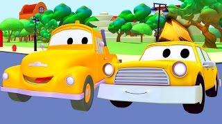 Taxi, sanitka a odťahovák