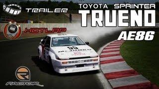 rFactor: Toyota AE86 @ Sugo view on youtube.com tube online.