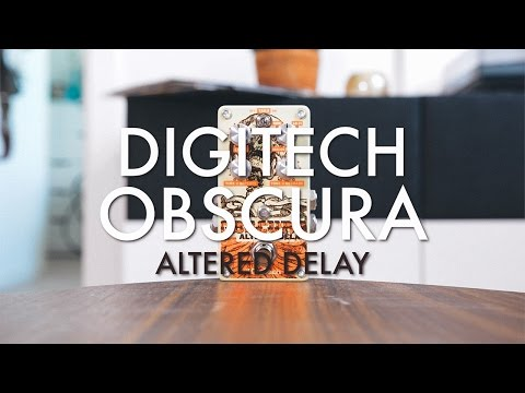 DigiTech Obscura - Altered Delay Effects Pedal