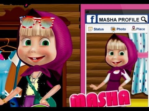 Masha Cô bé siêu quậy và chú gấu xiếc: Masha chơi facebook