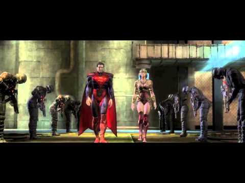 Injustice: Gods Among Us - The Line, Story Trailer