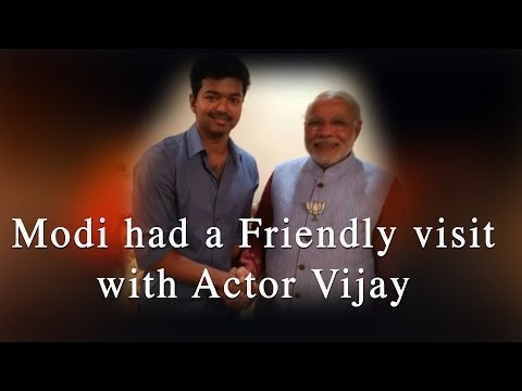 Modi had a Friendly visit with Actor Vijay - Red Pix 24x7
