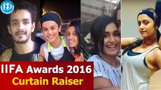 Exclusive - IIFA Awards 2016 - Curtain Raiser -Akkineni Akhil ,Priyamani