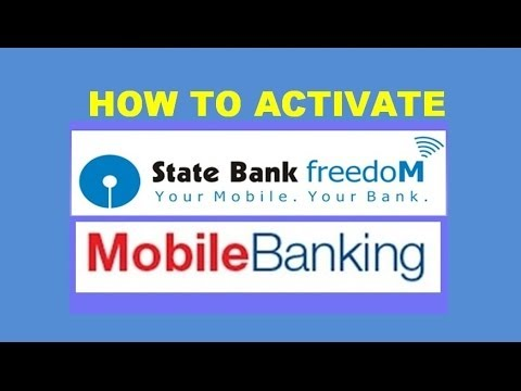 how to activate State bank mobile banking without going to bank for SBI,SBH,SBM,SBP,SBT ( in hindi )