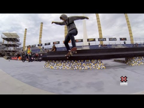 GoPro: Skate Street with Sean Malto - Summer X Games 2013 Barcelona