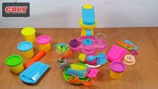 Đồ chơi đất nặn máy làm kem playset toy for kids childrens playdoh