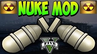 GTA 5 Mods Nuke Mod Huge Explosion Mod In GTA 5 Online