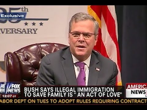 Even Jeb Bush's Mom Dissed Him Over His Immigration Comments