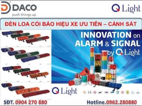 Đèn hộp xe cứu hỏa PCCC QLight: ELM-B-5, ELM-LR-1, ELM-LR-2, ELM-LR-3, ELM-LR-4