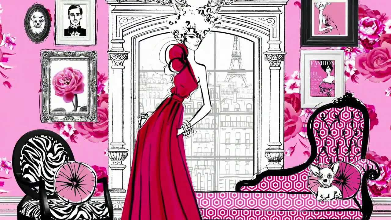 Fashion House Illustrated Interiors From The Icons Of Style Youtube