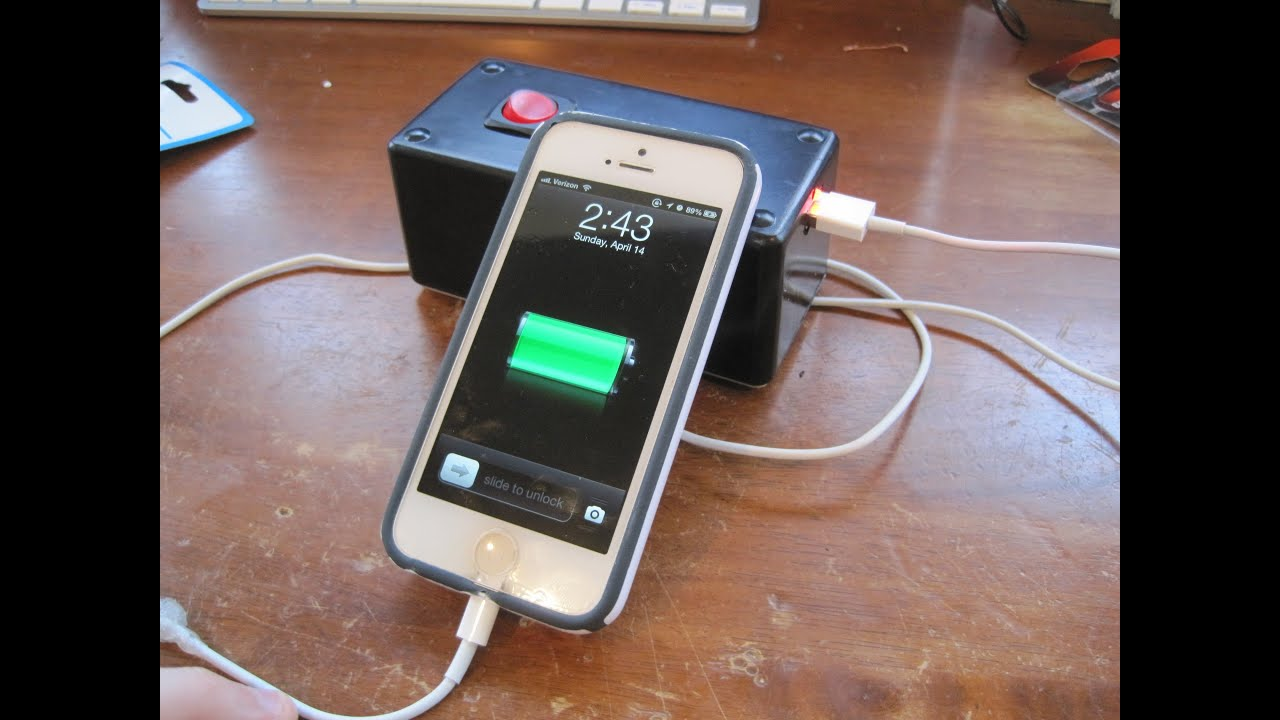 How To Make A Portable Usb Charger Youtube