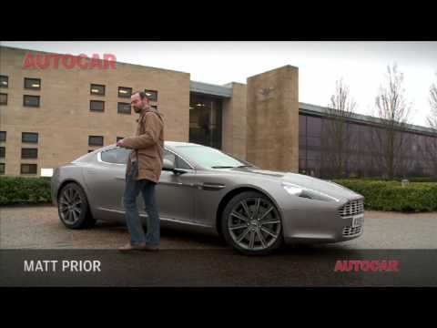 Тест-драйв Aston Martin Rapide V12