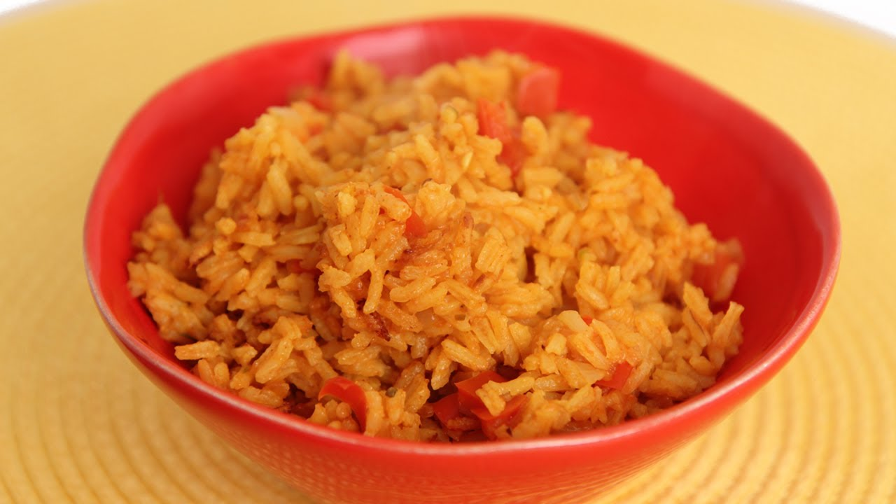 Mexican Yellow Rice Recipe - Laura Vitale - Laura in the Kitchen ...