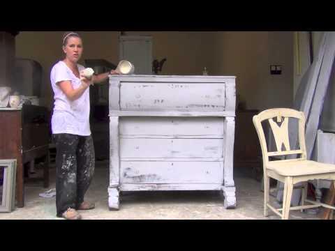 Annie sloan wax tutorial