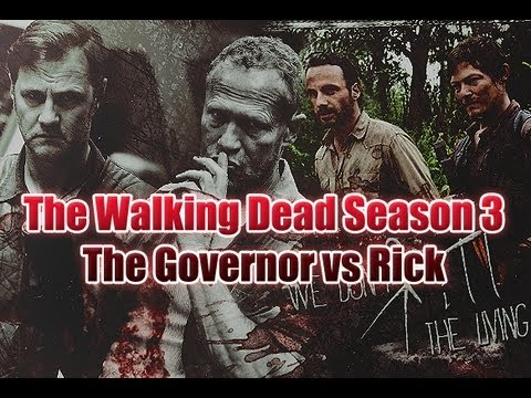 The Walking Dead Season 3 - Rick vs The Governor - Video Predictions!