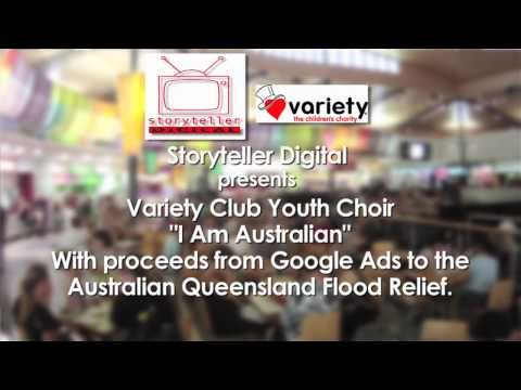 Variety Club Youth Choir Flash Mob 'I am Australian'