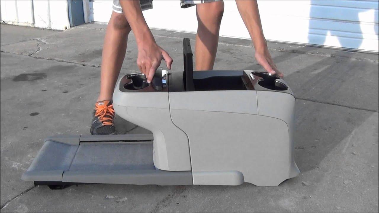 2011 Toyota Sienna Van Floor Center Console Drink Tray