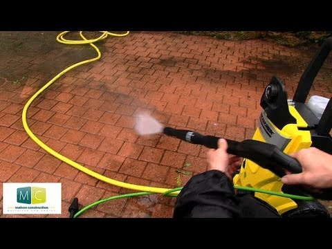 karcher nettoyeur haute pression pour l 39 ext rieur karcher pressure washer for outdoor youtube. Black Bedroom Furniture Sets. Home Design Ideas