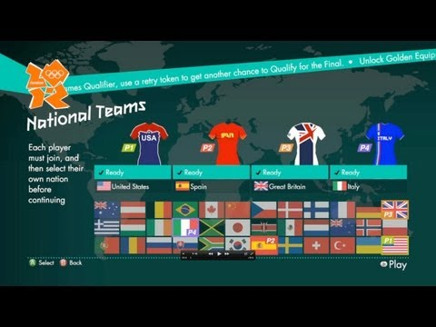 Let's Play London 2012 Part 1 - With Geoff, Michael, Gavin and Ray