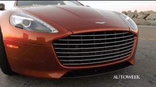 2014 Aston Martin Rapide S - drive review video
