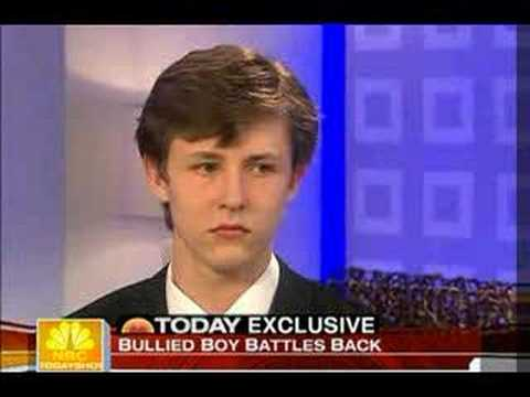 Bullied boy battles back