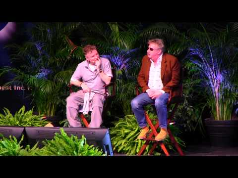 Wand Combat with Arthur Weasley at 'A Celebration of Harry Potter'