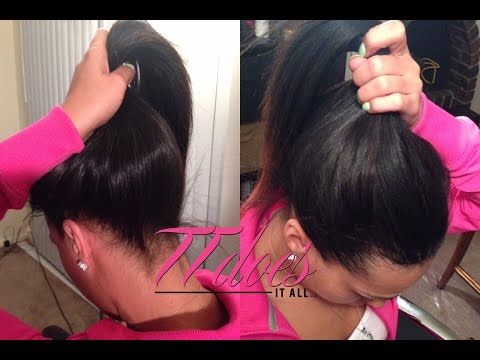 High Ponytail Sew in