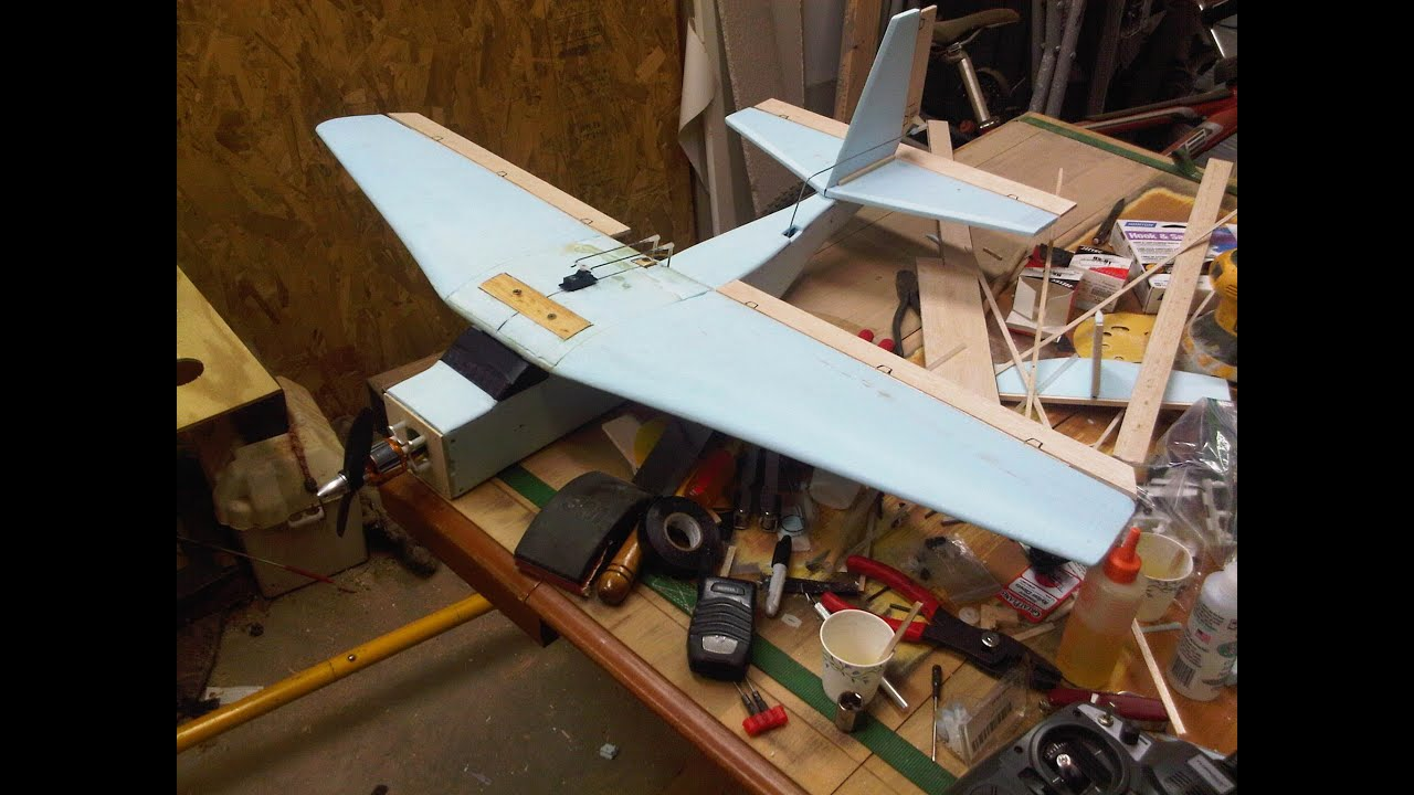 how to make a homemade rc plane pdf