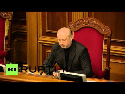 Ukraine: Turchynov warns Russia against