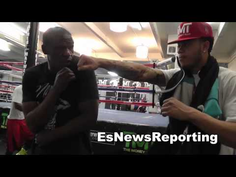 floyd mayweather sr on amir khan speed and maidana power EsNews Boxing