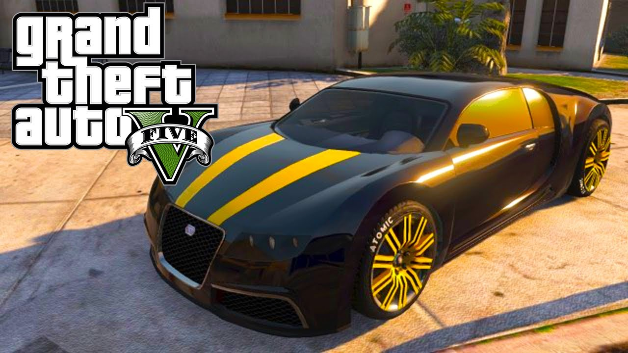 gta 5 adder customization guide bugatti veyron location gta v youtube. Black Bedroom Furniture Sets. Home Design Ideas