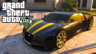 "GTA 5: ""Adder"" Customization Guide (Bugatti Veyron"