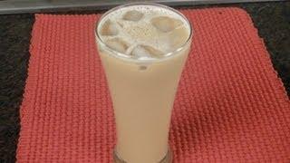 Cardamom Spiced Coffee Frappe ..