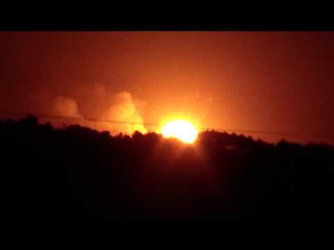 فيديو: انفجار ضخم يهزّ أوكرانيا!